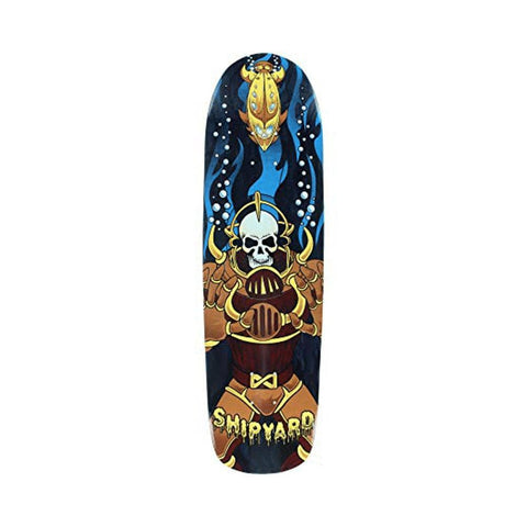 "Shipyard Skateboard Deck Pop Sinking Death 8.5"" x 32.125"" Black-50-50 Skate Shop"
