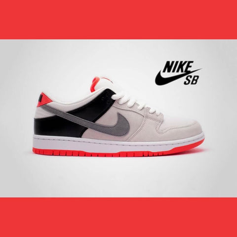 Nike SB Dunk Low Pro ISO Neutral Grey Cool Grey Black Infrared-50-50 Skate Shop