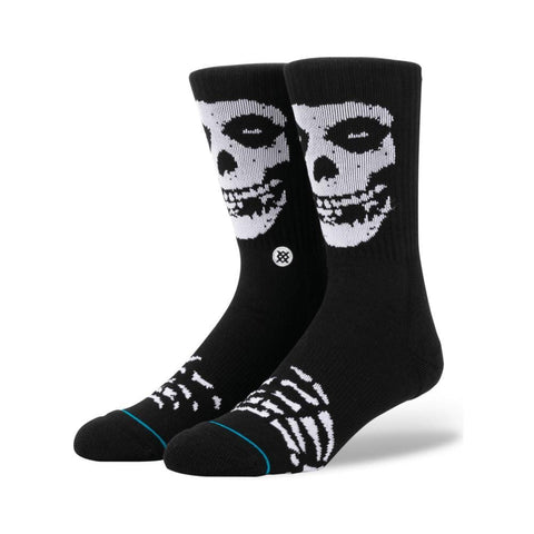 Stance Mens Misfits Socks Black-50-50 Skate Shop