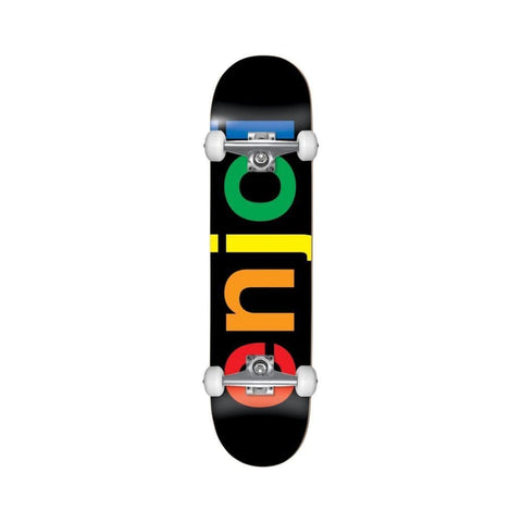 "Enjoi Spectrum Skateboard Complete Black 7.875""-50-50 Skate Shop"