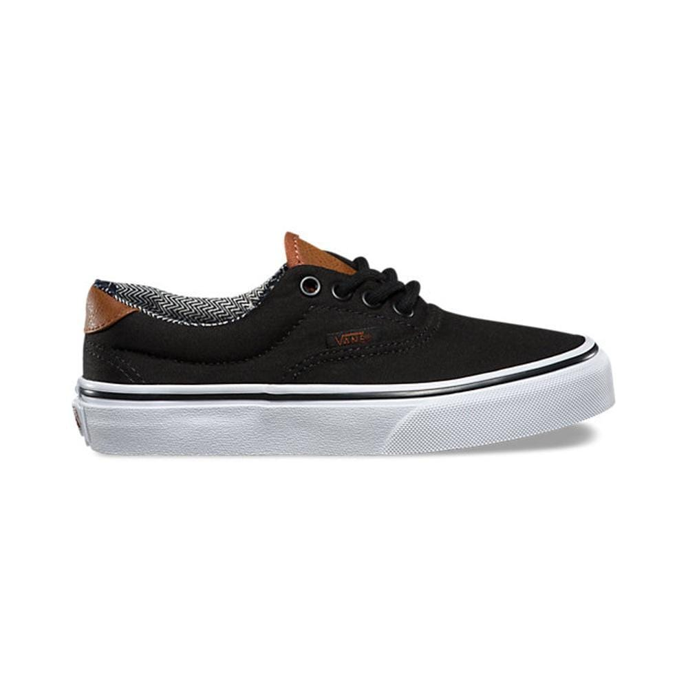 Vans Kids Era 59 (C L) Black Material Mix – 50-50 Skate Shop 5d536edd6