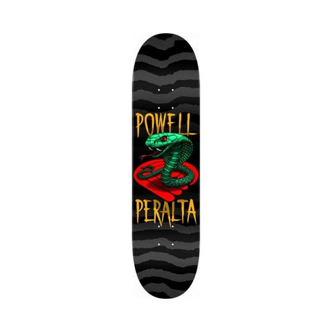 "Powell Peralta Skateboard Deck Cobra Yellow 8.5"" x 32.08"" - 50-50 Skate Shop"