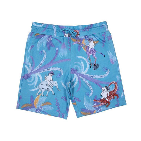 Ripndip LA March Sweatshorts Blue-50-50 Skate Shop