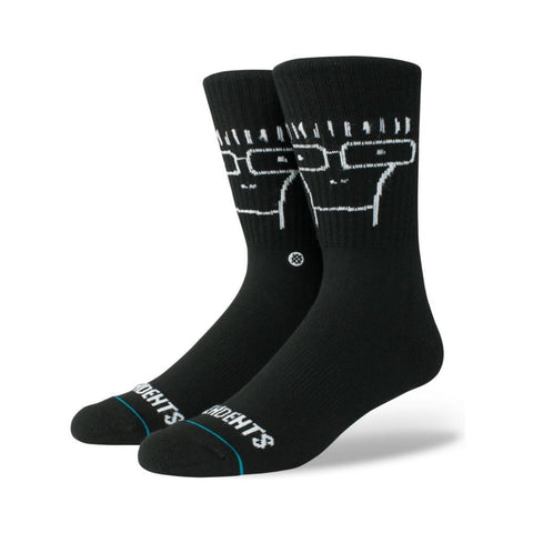 Stance Mens Descendents Socks Black-50-50 Skate Shop