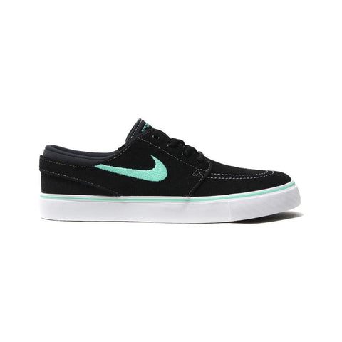 Nike SB Stefan Janoski (GS) Black Green Glow Anthracite-50-50 Skate Shop
