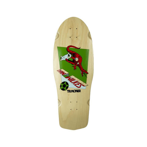 "Tracker Skateboard Deck Dan Wilkes Dino Channel Air 10.5"" x 31"" Natural-50-50 Skate Shop"
