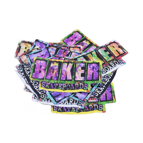 Baker Sticker Finger Painting - 50-50 Skate Shop