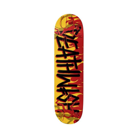 "Deathwish Skateboard Deck Deathspray Dancin Devil 8.475"" x 31.875"" - 50-50 Skate Shop"