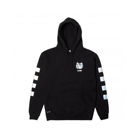 Ripndip Hoodie Illusion Black-50-50 Skate Shop
