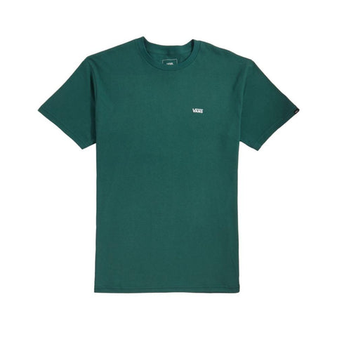 Vans Left Chest Logo Tee Trekking Green-50-50 Skate Shop