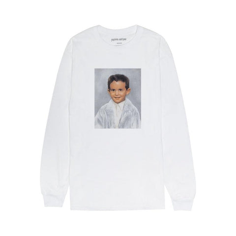 Fucking Awesome Dylan Rieder Long Sleeve shirt White-50-50 Skate Shop
