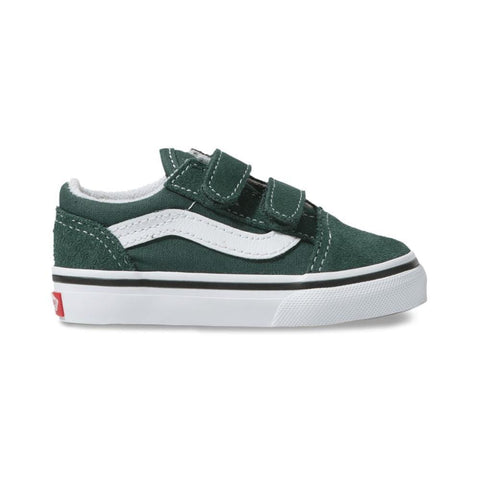 Vans Toddler Old Skool V Trekking Green True White - 50-50 Skate Shop