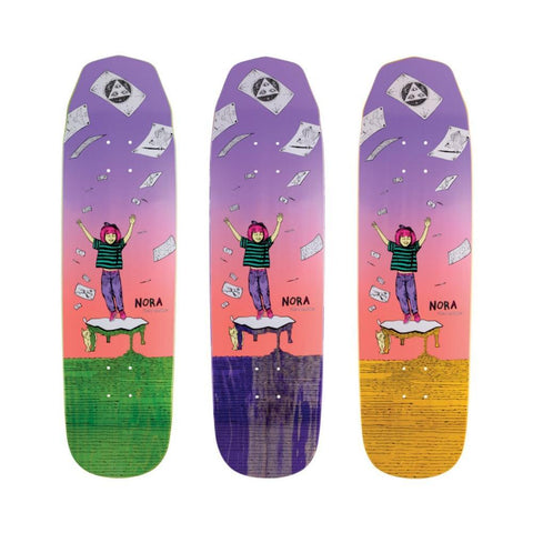 "Welcome Skateboard Deck Magilda On Wicked Queen 8.6"" Lavender Coral - 50-50 Skate Shop"