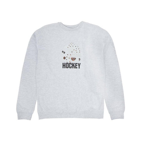 Hockey Mask Crew Grey-50-50 Skate Shop