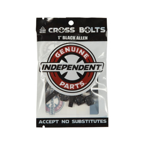 "Independent 1"" Allen Skateboard Deck Bolts Hardware-50-50 Skate Shop"