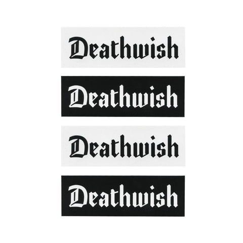 Deathwish Lounge Sticker (sold Individually) - 50-50 Skate Shop