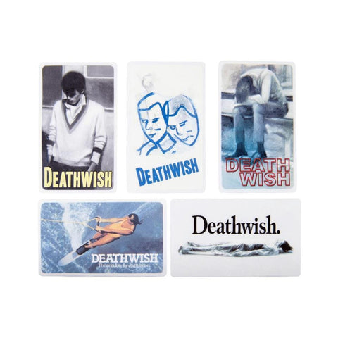 Deathwish Stickers Fall 19 One Off (Sold Individually) - 50-50 Skate Shop