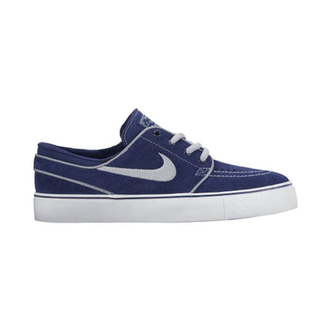 Nike SB Stefan Janoski (GS) Binary Blue Wolf Grey White-50-50 Skate Shop