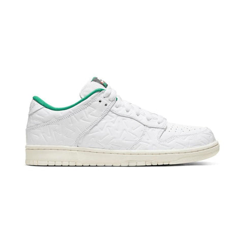 Nike SB x Ben G Dunk Low OG Quick Strike 2 White White Lucid Green Sail-50-50 Skate Shop