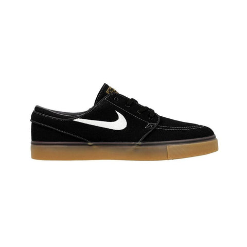 Nike Zoom Stefan Janoski Canvas Black White Metalic