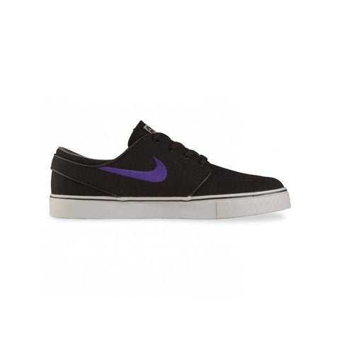 NIKE ZOOM STEFAN JANOSKI CANVAS BLACK COURT PURPLE