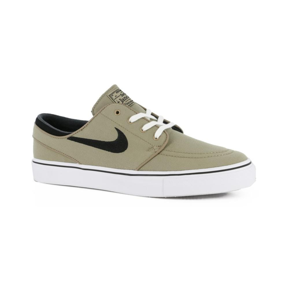 NIKE ZOOM STEFAN JANOSKI CANVAS KHAKI BLACK WHITE - 50-50 Skate Shop