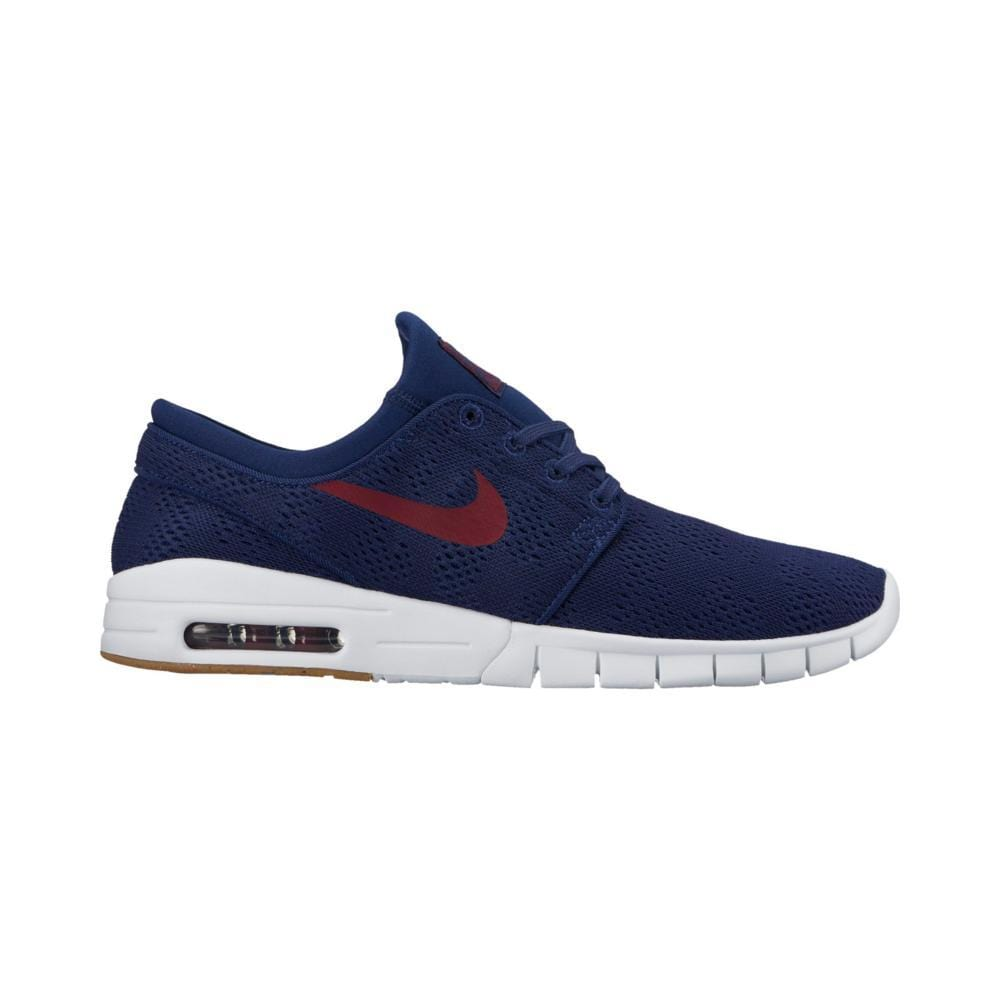 Nike SB Stefan Janoski Max Binary Blue/Team Red-Gum Light Brown-50-50 Skate Shop