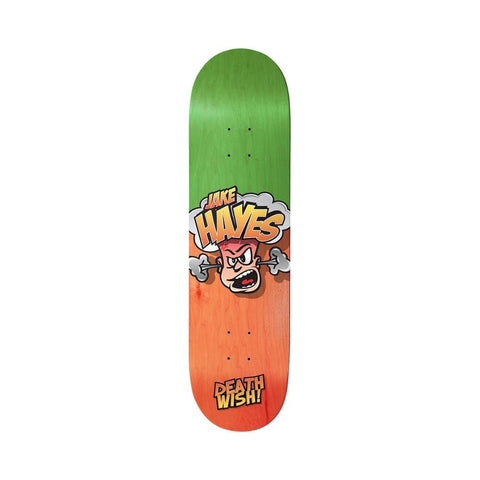 "Deathwish Skateboard Deck Jake Hayes Hot Head 8.0"" x 31.5"" - 50-50 Skate Shop"