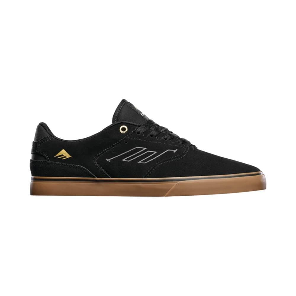 Emerica The Low Vulc Black Gum-50-50 Skate Shop