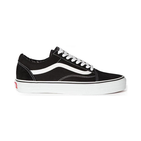 Vans Mens and Womens Old Skool Black And White - 50-50 Skate Shop