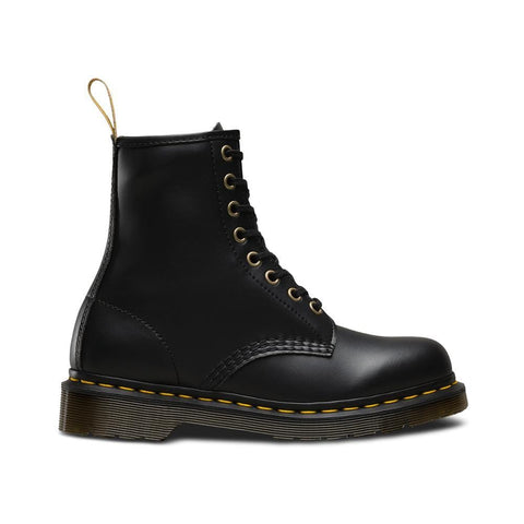 Dr Martens 1460 Vegan 8 Eye Boot Black Felix Rub Off - 50-50 Skate Shop