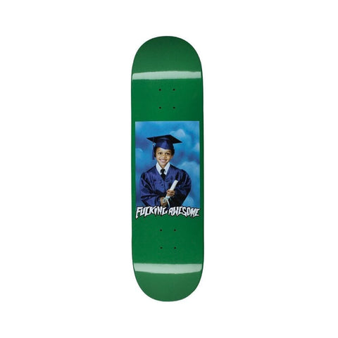 "Fucking Awesome KB Class Photo Skateboard Deck Dipped Green 8.5"" - 50-50 Skate Shop"