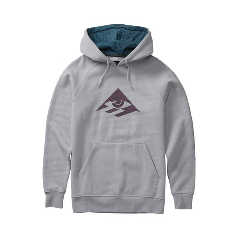 Emerica X Toy Machine Pull Over Hoodie Light Grey-50-50 Skate Shop
