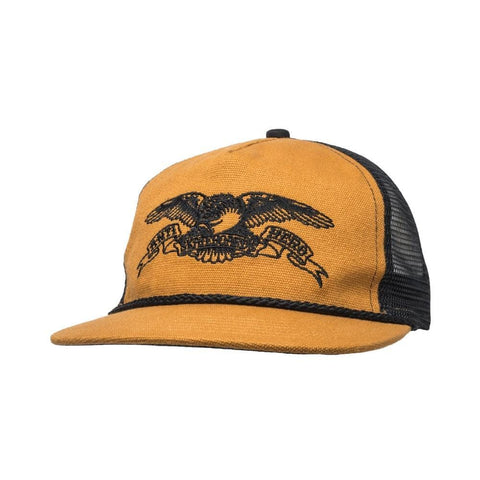 Anti hero Cap Trucker Basic Eagle Tan Black - 50-50 Skate Shop