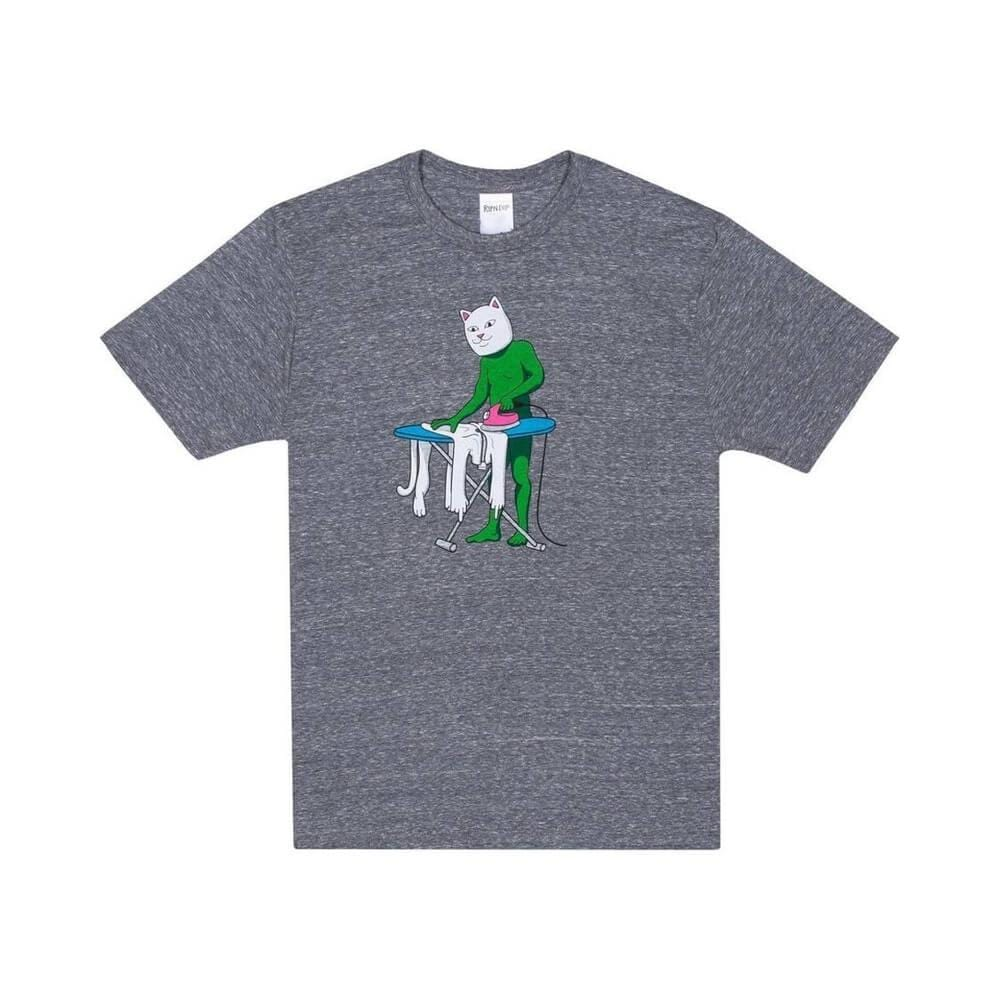 Ripndip Tee Laundry Day Ash Heather - 50-50 Skate Shop