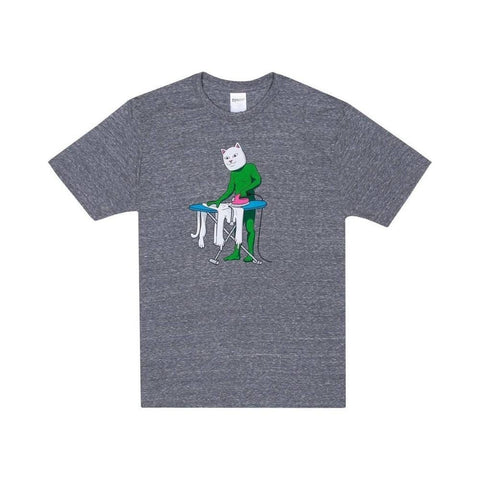 Ripndip Tee Laundry Day Ash Heather-50-50 Skate Shop