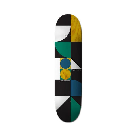 Plan B Skateboards Deck Geometrics Series Felipe 7.75""