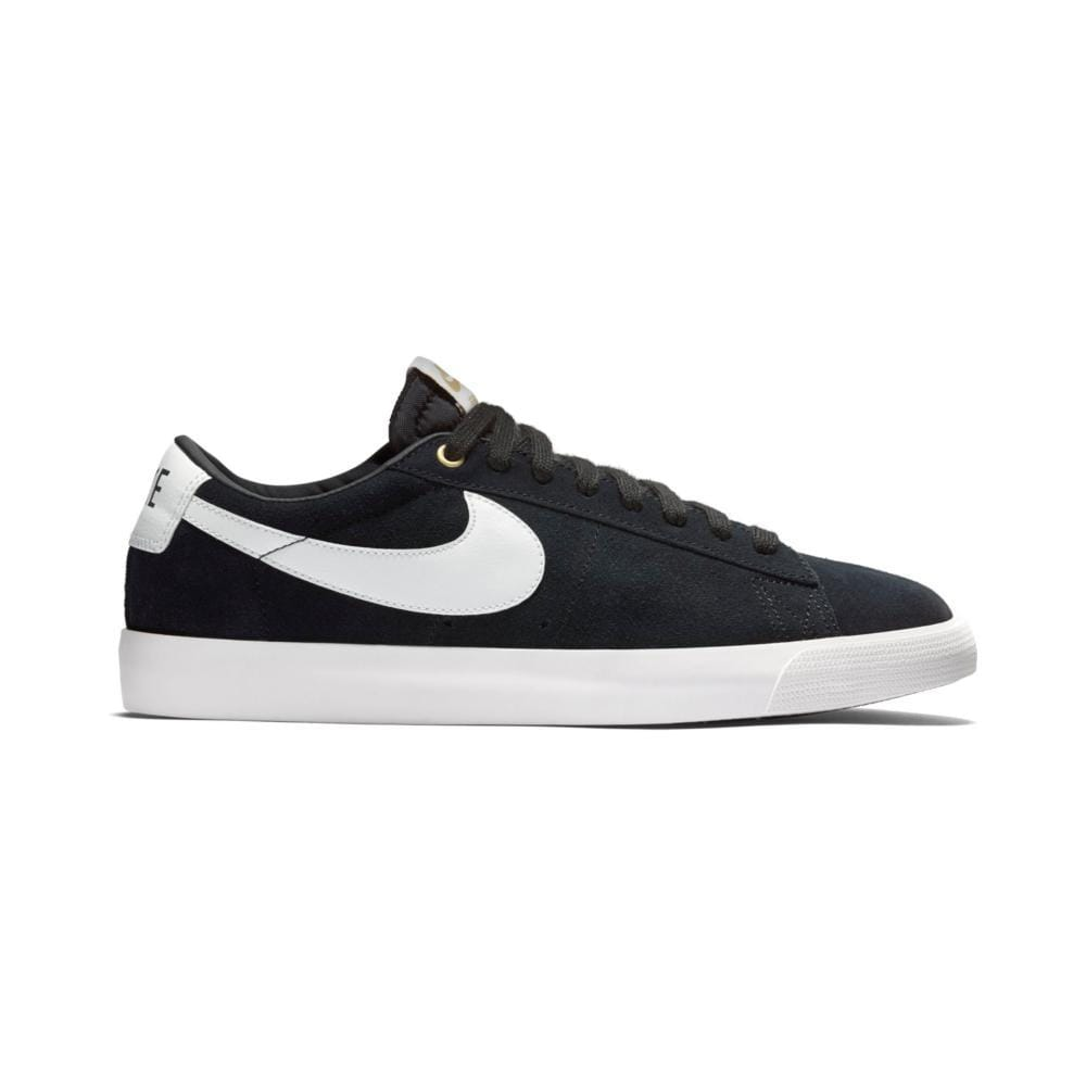 Nike SB Zoom Blazer Low GT Black White Sail - 50-50 Skate Shop