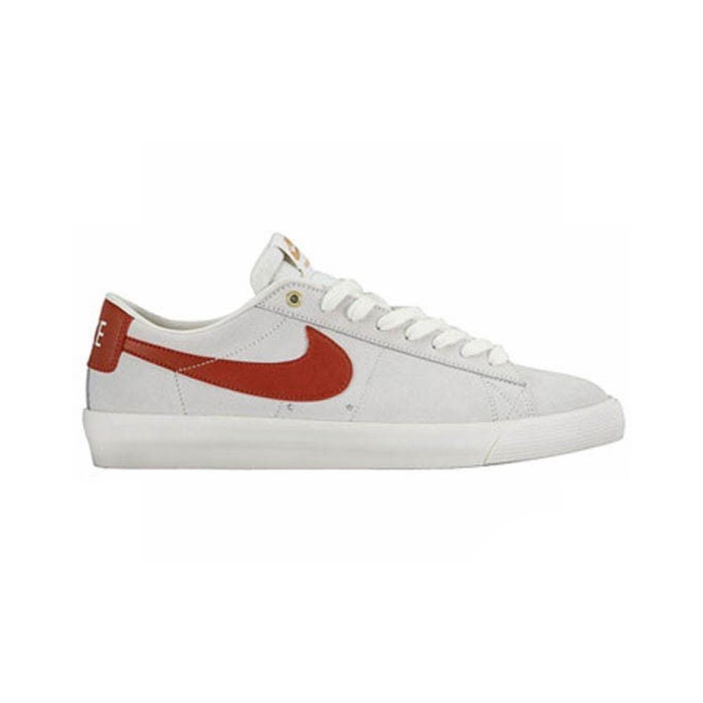 Nike Blazer Low GT Ivory Cinnabar Metallic Gold - 50-50 Skate Shop