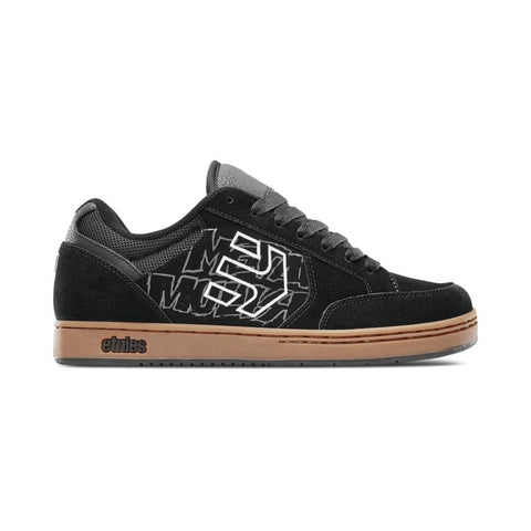 Etnies x Metal Mulisha Swivel Black Gum-50-50 Skate Shop
