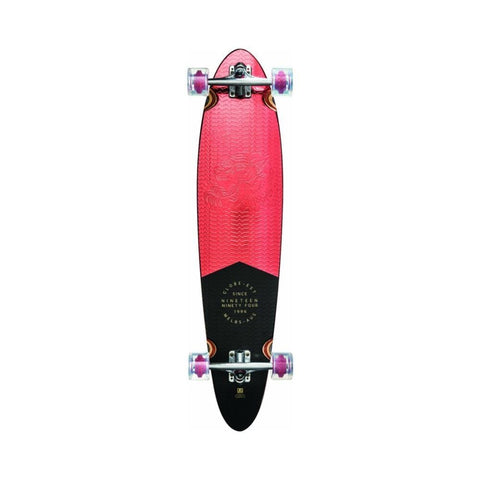 "Globe Pinner Classic 40"" Red Foil Skateboard-50-50 Skate Shop"
