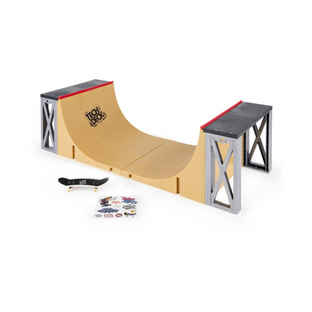 Tech Deck Half Pipe-50-50 Skate Shop