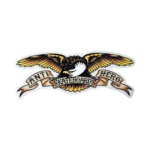 Anti Hero Sticker Eagle Small (Each)-50-50 Skate Shop
