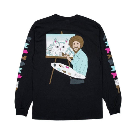 Ripndip Ross Long Sleeve Tee Black-50-50 Skate Shop
