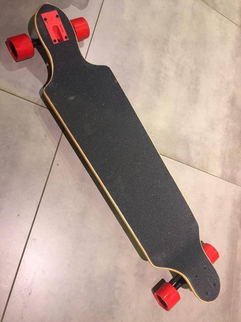 "ABS Drop Down Drop Through Longboard Skateboard 10.25"" - 50-50 Skate Shop"