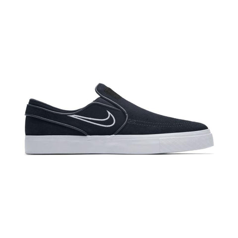 Nike SB Air Zoom Stefan Janoski Slip On Black Light Bone White-50-50 Skate Shop