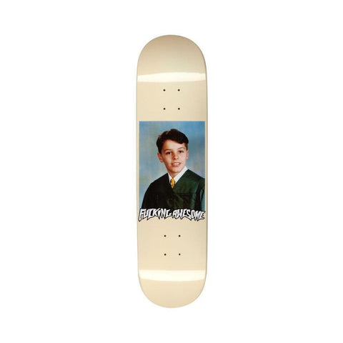 "Fucking Awesome Gino Class Photo Skateboard Deck Dipped Cream 8.18""-50-50 Skate Shop"
