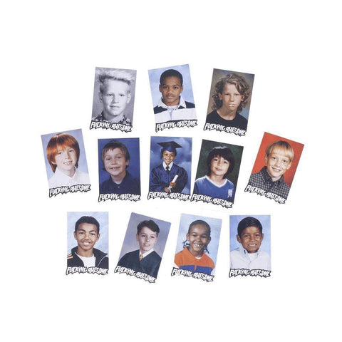 Fucking Awesome Class Photo Sticker Pack - 50-50 Skate Shop