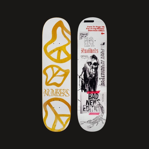 "Numbers Edition Skateboard Deck Koston Edition 5 - 8.25"" x 31.75"" - 50-50 Skate Shop"
