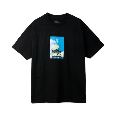 Baker Tee Lankershim Black - 50-50 Skate Shop